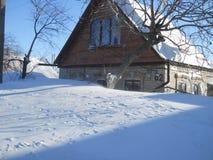 Invierno en el sur Foto de archivo libre de regalías