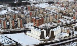 Invierno en el Vilnius Fotografía de archivo