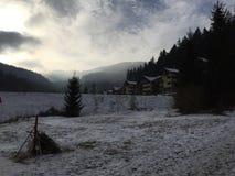 Invierno en Eslovaquia fotos de archivo