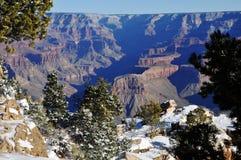 Invierno en Grand Canyon Fotos de archivo libres de regalías