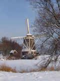 Invierno en Holanda Fotografía de archivo libre de regalías