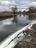 Invierno en Irpin - Ucrania Fotos de archivo