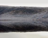 Invierno en la cañada Garry, Escocia imagen de archivo libre de regalías