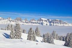 Invierno en las montañas Imagen de archivo libre de regalías