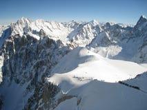 Invierno en las montan@as Foto de archivo libre de regalías
