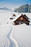 Invierno en las montan@as austríacas Imagen de archivo