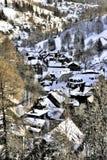 Invierno en Lauscha Fotografía de archivo