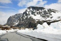 Invierno en montañas Fotografía de archivo libre de regalías