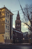 Invierno en Moscú Imagen de archivo