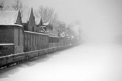 Invierno en Pekín Imágenes de archivo libres de regalías
