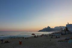 Invierno en Rio de Janeiro - el Brasil Foto de archivo