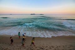 Invierno en Rio de Janeiro - el Brasil Imagen de archivo libre de regalías