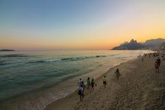 Invierno en Rio de Janeiro - el Brasil Foto de archivo libre de regalías