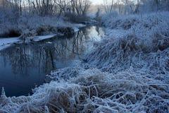 Invierno en Rusia Fotografía de archivo libre de regalías