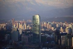 Invierno en Santiago Foto de archivo libre de regalías