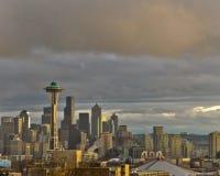 Invierno en Seattle Imagen de archivo