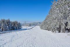 Invierno en Serbia Zlatibor 2017 Fotos de archivo libres de regalías