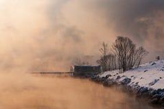 Invierno en Siberia fotos de archivo libres de regalías