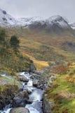 Invierno en Snowdonia Fotografía de archivo libre de regalías