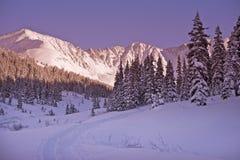 Invierno escénico Colorado Imagen de archivo