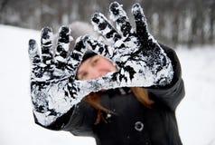 Invierno frío Fotografía de archivo