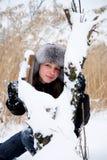 Invierno frío Fotos de archivo libres de regalías