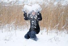 Invierno frío Imágenes de archivo libres de regalías