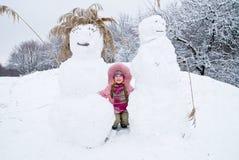 Invierno frío Foto de archivo libre de regalías