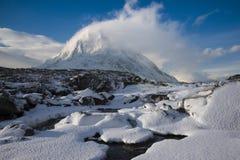 Invierno, Glen Coe Imagenes de archivo