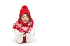 Invierno, la Navidad, concepto de los días de fiesta Fotos de archivo libres de regalías
