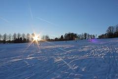 Invierno mágico foto de archivo