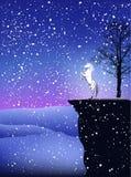 Invierno mágico stock de ilustración