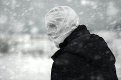 Invierno nuclear fotos de archivo libres de regalías