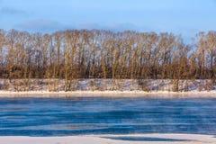 Invierno Rusia, Uglich Foto de archivo