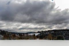 Invierno Sauerland Imagenes de archivo