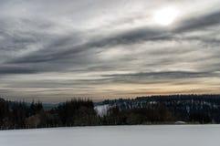 Invierno Sauerland Imagen de archivo libre de regalías