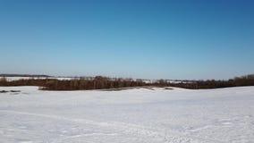 Invierno, sol y naturaleza