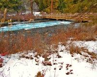 Invierno Waterland foto de archivo libre de regalías
