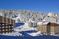 Invierno y nieve Fotos de archivo