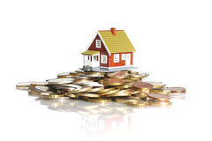 Invierta en concepto de las propiedades inmobiliarias. imágenes de archivo libres de regalías