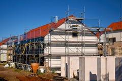 invierta en la construcción de viviendas fotografía de archivo libre de regalías