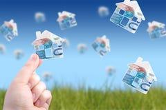 Invierta en propiedades inmobiliarias imagen de archivo