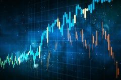 Invierta y el concepto comercial stock de ilustración