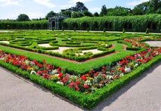 invigd schonbrunn vienna Österrike för trädgårds- slott Arkivfoto