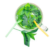 Invigorating fresh mojito Royalty Free Stock Images