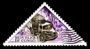 Invii il camion, serie del trasporto, circa 1961 Immagine Stock Libera da Diritti