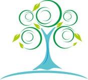 Invinite drzewo Fotografia Stock