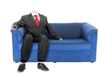 Invisible business man | Isolated Stock Image