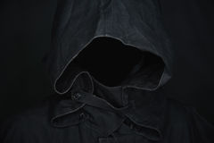 Invisible ghost wearing in a hood Stock Images