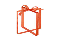 Invisible Gift Box Royalty Free Stock Photos